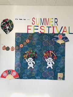 Summer festival 装飾 1